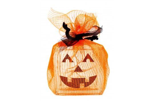 Nicole™ Crafts Pumpkin Glass Block