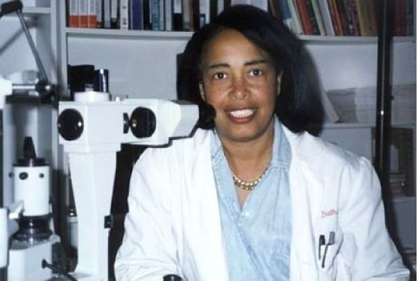 Patricia Bath, M.D.: Laser Cataract Surgery Device  She's the first African-American female doctor to patent in 1988, a new method of removi...