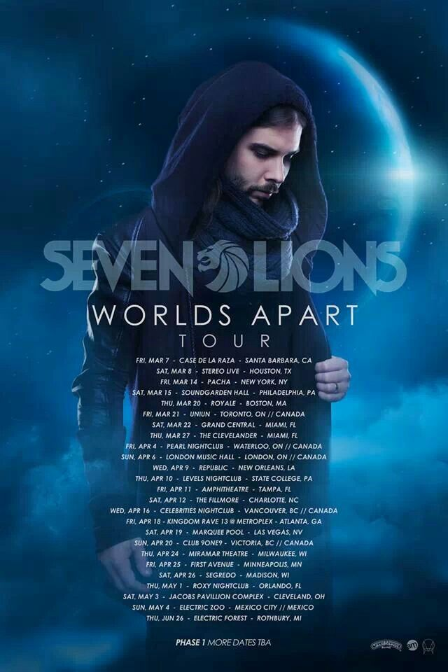 Seven Lions World Apart Tour