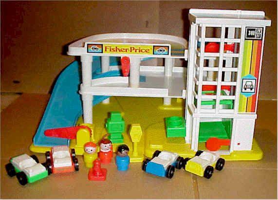Garage Fisher Price : Did you have this u fisher price parking garage