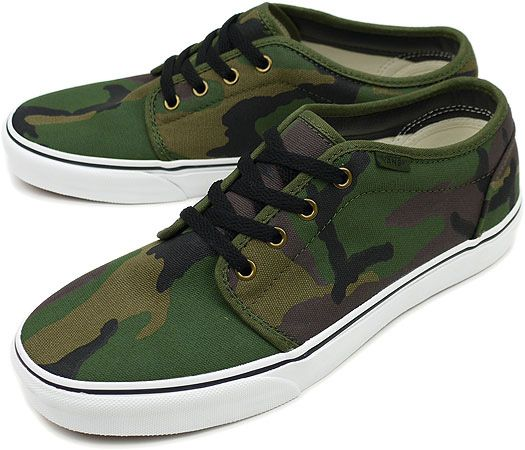 Camo 106 Vans...own them, but need more pairs and they are discontinued..Please Van's.