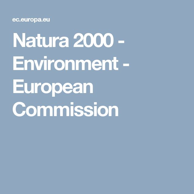 Natura 2000 - Environment - European Commission