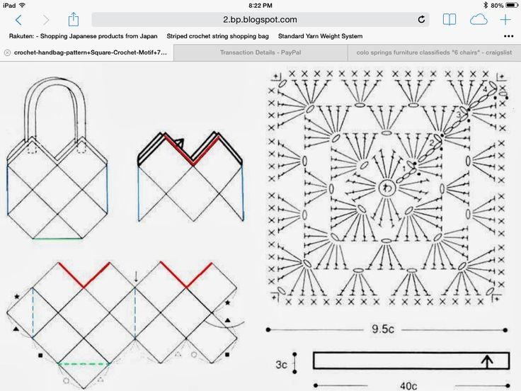 Mejores 28 imágenes de Diagram Patterns en Pinterest | Patrones ...