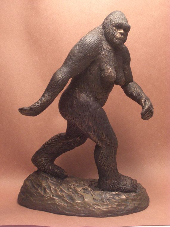 Bigfoot Sasquatch Patty Figure Sculpture By