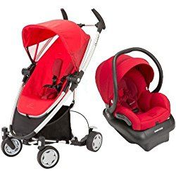 Quinny 2013 Zapp Xtra Travel System w/Mico AP Car Seat, Red