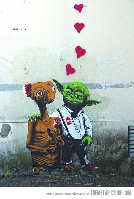 True love from another galaxy...