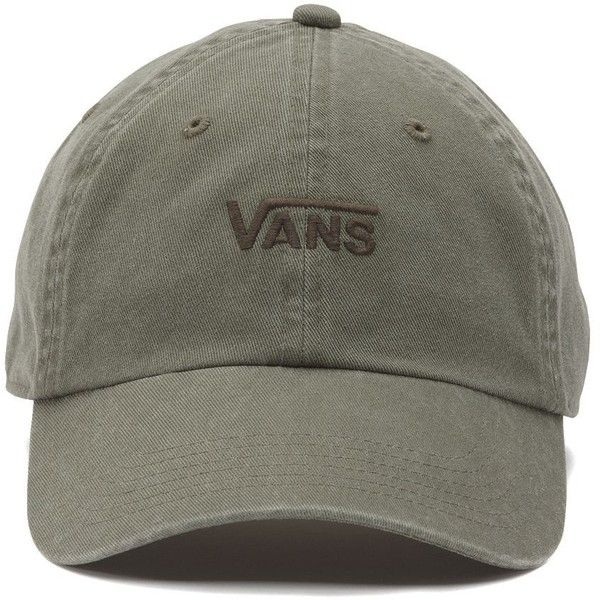 Vans Court Side Baseball Hat ($28) ❤ liked on Polyvore featuring accessories, hats, vans hats, embroidered hats, baseball hats, logo baseball hats and logo ball caps