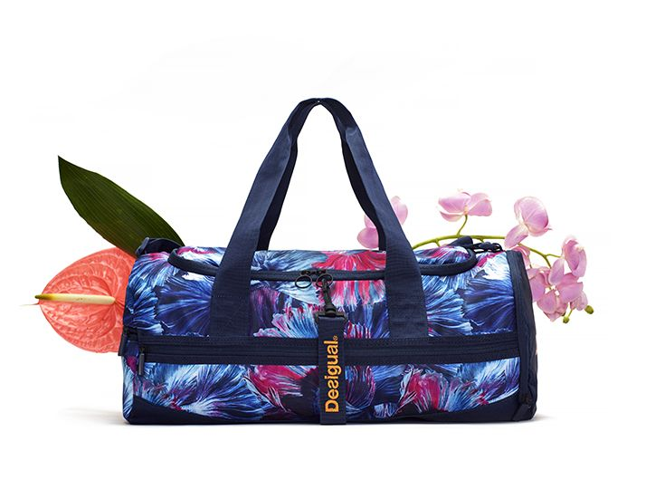 Carry your sports kit in style with Desigual women's sports