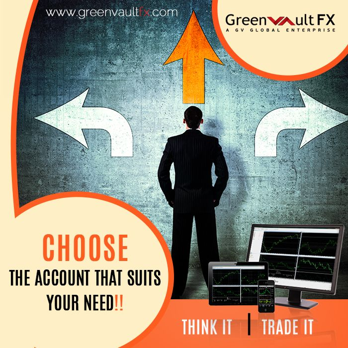 #Trade like a Sniper with Greenvault #FX #trading accounts!!  Compare the account types and select the most appropriate one for you as a #trader.