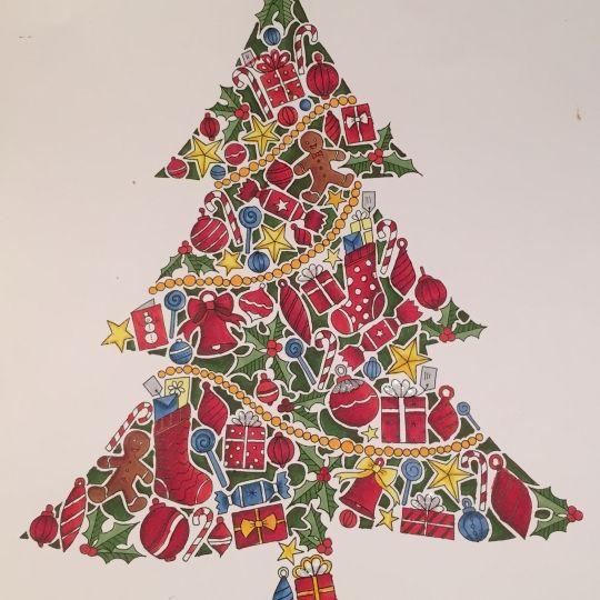 76 best Johanna's Christmas - Johanna Basford images on Pinterest ...