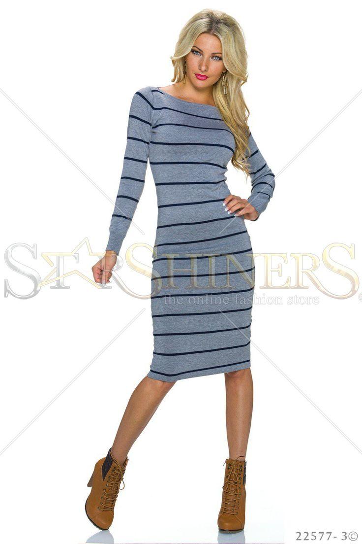 Classic Lines Grey Dress