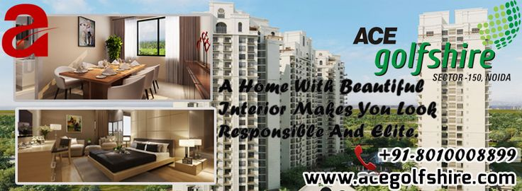 #AceGolfShire #apartments offering green view from all balconies enjoy the exclusive theme development with integrated #Golf Course within premises and a 9 hole Golf Course Check It Out Here:- http://www.acegolfshire.com/