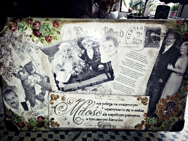 walizka na rocznicę ślubu:)