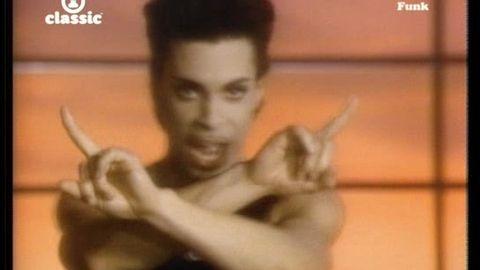 Vidéo Prince-kiss - funk - vidéo Musique