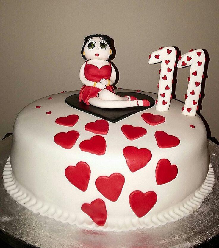 Betty Boop cake by Konstantina Chalkia
