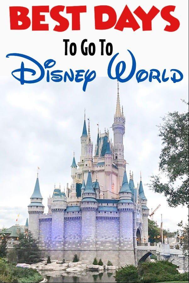 Best Days To Go To Disney World Crowd Calendar Disney World