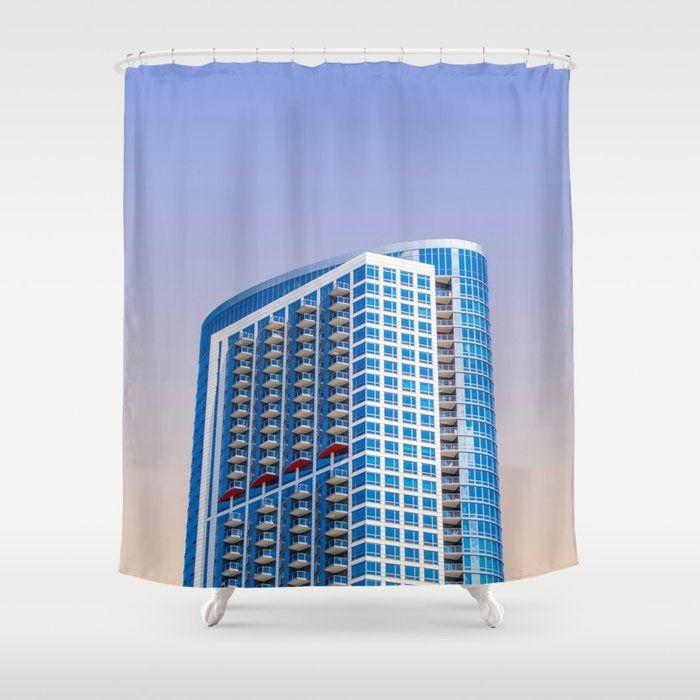 Chicago Illinois Vii Shower Curtain In 2020 Curtains Shower