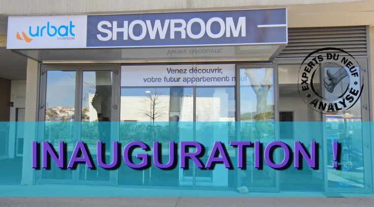 #immobilier #Montpellier EXPERTS DU NEUF sera aujourd'hui à l'inauguration du nouveau SHOWROOM du promoteur URBAT