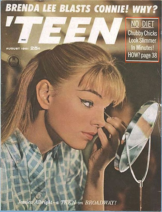 """No Diet. Chubby Chicks Look Slimmer In Minutes! How? 