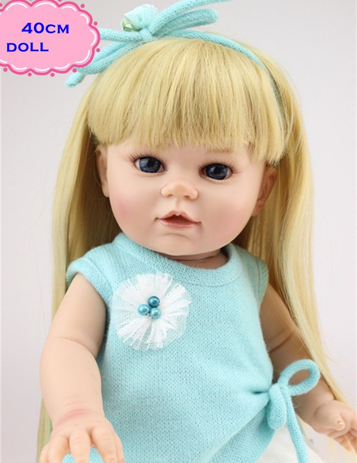 53.36$  Watch more here  - Cutest Reborn Dolls Brinquedos NPK American Girl Doll In Handmade Clothes About 40cm Full Silicone Reborn Baby Dolls For Sale