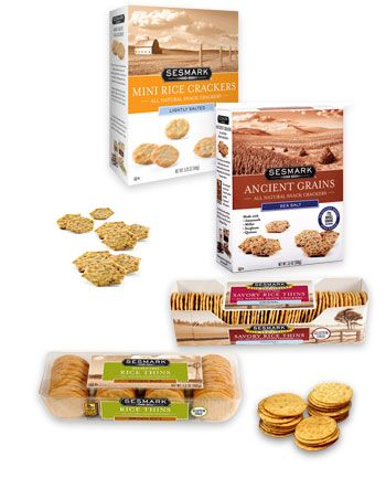 Gluten Free Crackers | Sesmark One of the few crackers that don't have wheat, soy or corn and that taste great.