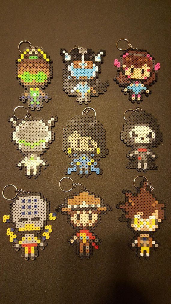 This listing is for some Overwatch Characters! If you do not see your character listed, please message me as I most likely can make it but just do not have a picture available yet. Showing I have, in no particular order; Symmetra, McCree, D.Va, Reaper, Lucio, Zenatta, Genji, Pharah, and
