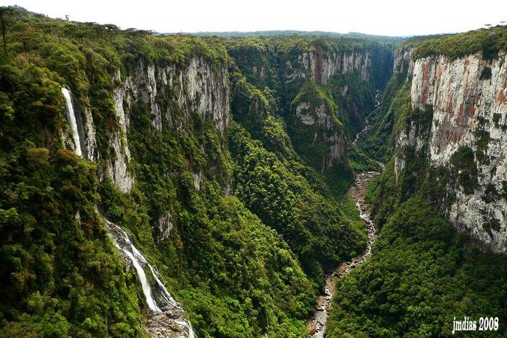 Itaimbezinho Canyon, Rio Grande do Sul, Brazil