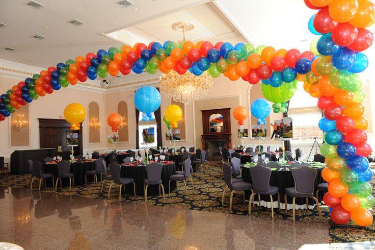 1000 ideas about dance floors on pinterest veils dance for Balloon dance floor decoration