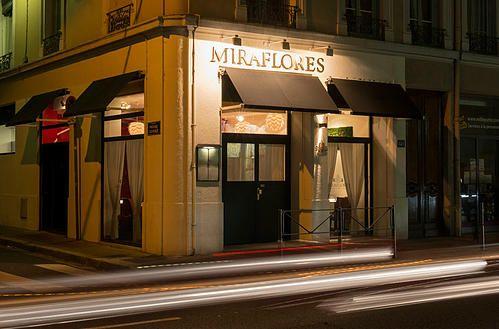 Restaurant Miraflores   LE MIRAFLORES restaurant péruvien pas cadeau mais très original 60 rue garibaldi 69006 LYON 04.37.43.61.26