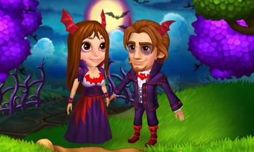 Halloween Costume Idea: Vampire Prince and Vampire Princess!  #royalstorygame