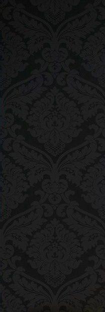 5526-31 zwart barok vinyl behang