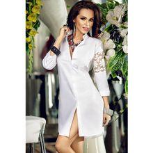 Белый старинные рубашки кружева с длинным рукавом блузка мода рабочая одежда ну вечеринку широкий платья сорочка ночная рубашка Vestidos ну вечеринку(China (Mainland))