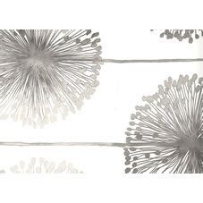 Muriva  Dandelion Wallpaper Silver at wilko.com
