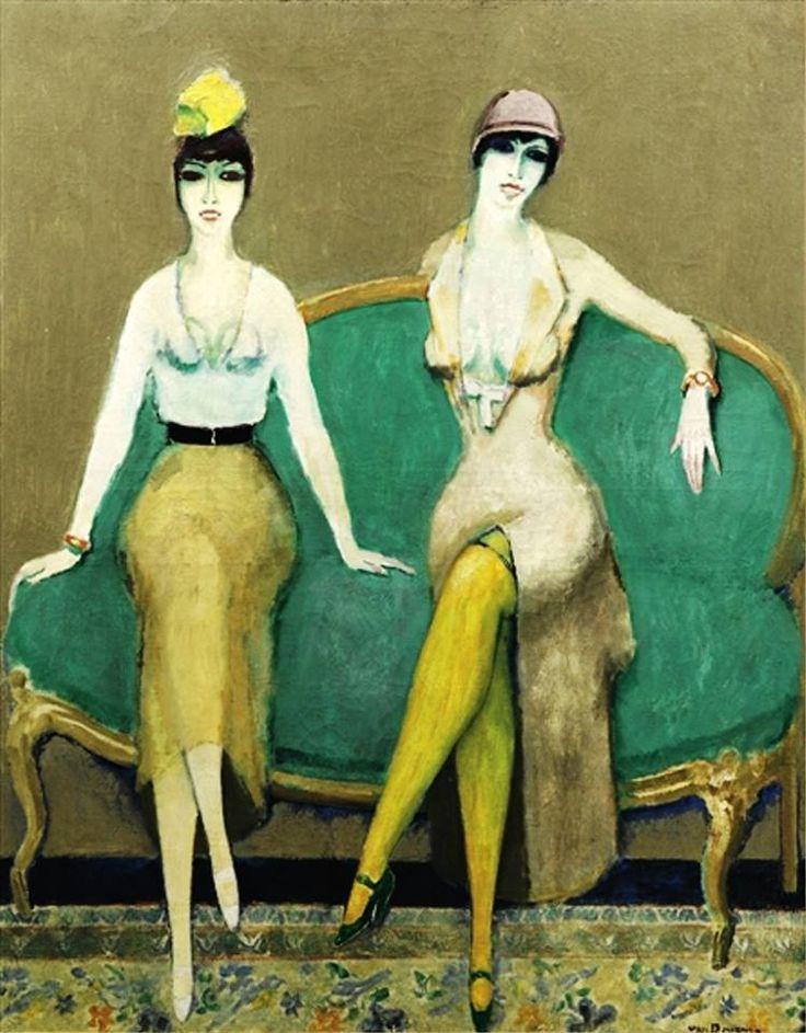Kees Van Dongen-Dolly Sisters 1925: