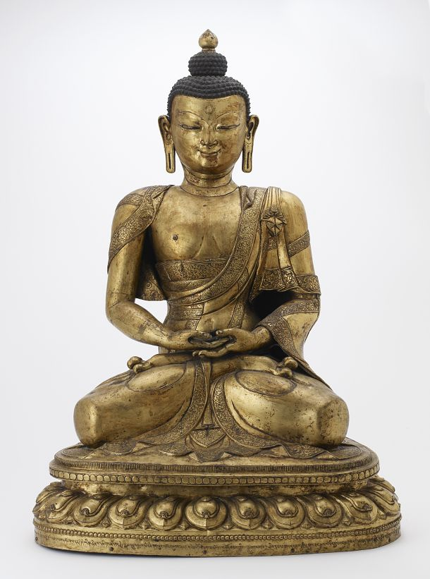 Want to learn more about Buddhism? Check out our Teacher's Guide to the Art of Buddhism: http://www.asia.si.edu/explore/teacherResources/ArtofBuddhism1.pdf S2014.20 #FSIntroToBuddhism