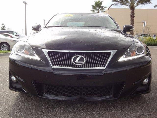 2013 Lexus IS250 Base 4dr Sedan Sedan 4 Doors Obsidian for sale in Viera, FL Source: http://www.usedcarsgroup.com/used-lexus-for-sale-in-viera-fl