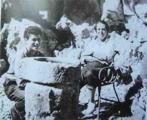 Toyen with Georguese Goldfayn