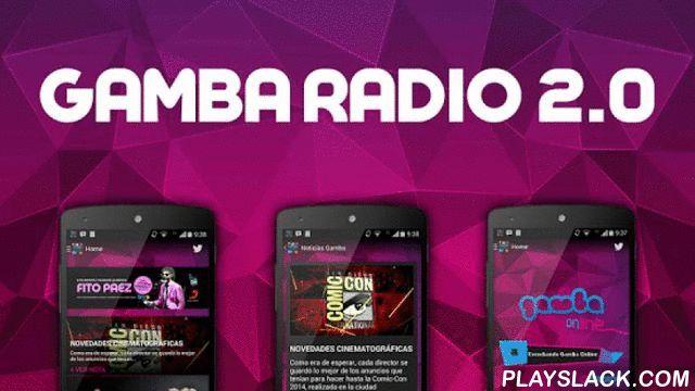 Gamba Radio  Android App - playslack.com , =GAMBA RADIO=Descargate gratis la aplicación oficial de Radio Gamba! Disponible para los smartphones Android y a partir de ahora en TABLETS!=RENOVACION=Gamba da un salto 2.0 con un completo lavado de cara en su aplicación móvil para ofrecerte las últimas noticias, ganadores, radios online, red de servicio y mucho, mucho más!=COMPARTE=Mantenete al tanto de las mejores noticias del mundo de la música y la tecnología! Compartilo en tus redes…