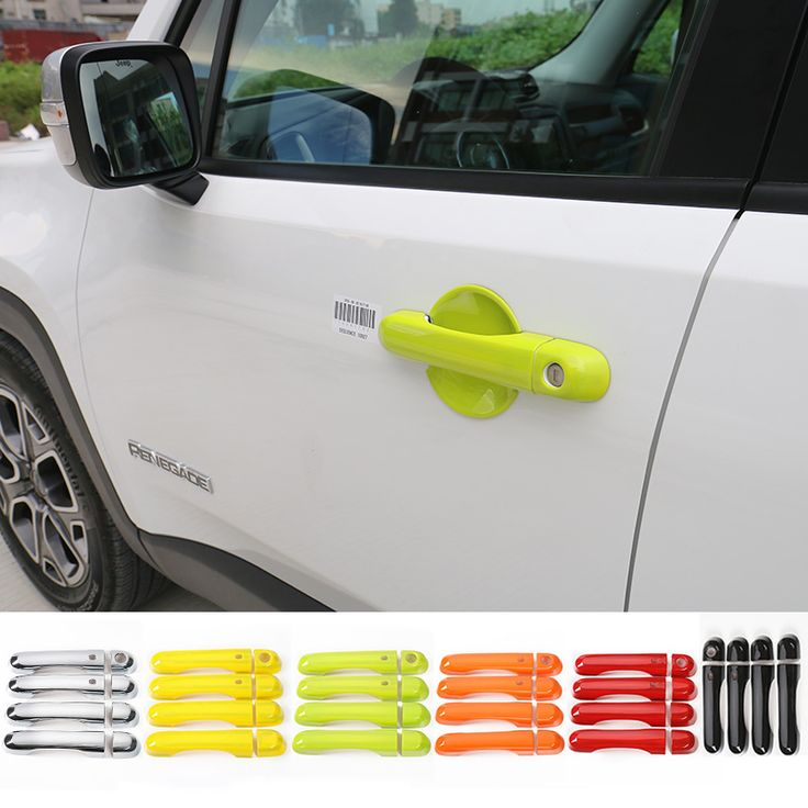 Find More Chromium Styling Information about 6 Colors for Choice ! Charming Colorful Car Accessories for Jeep Rengade 2015 up ABS Side Door Handle Cover Trim with SmartLock,High Quality car accessories for toyota,China car accessories styling Suppliers, Cheap car accessories shop from Mopai Auto Accessories on Aliexpress.com