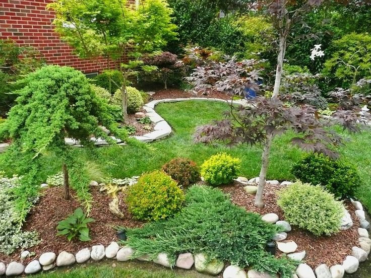 67 best Landscape Ideas images on Pinterest | Landscaping, Backyard Dwarf Conifer Rock Garden Design Id E A on