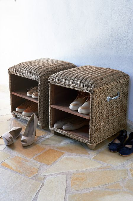 RR Barca open footstool 45x45
