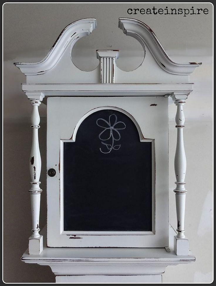 Hometalk :: Repurposed Grandfather Clock