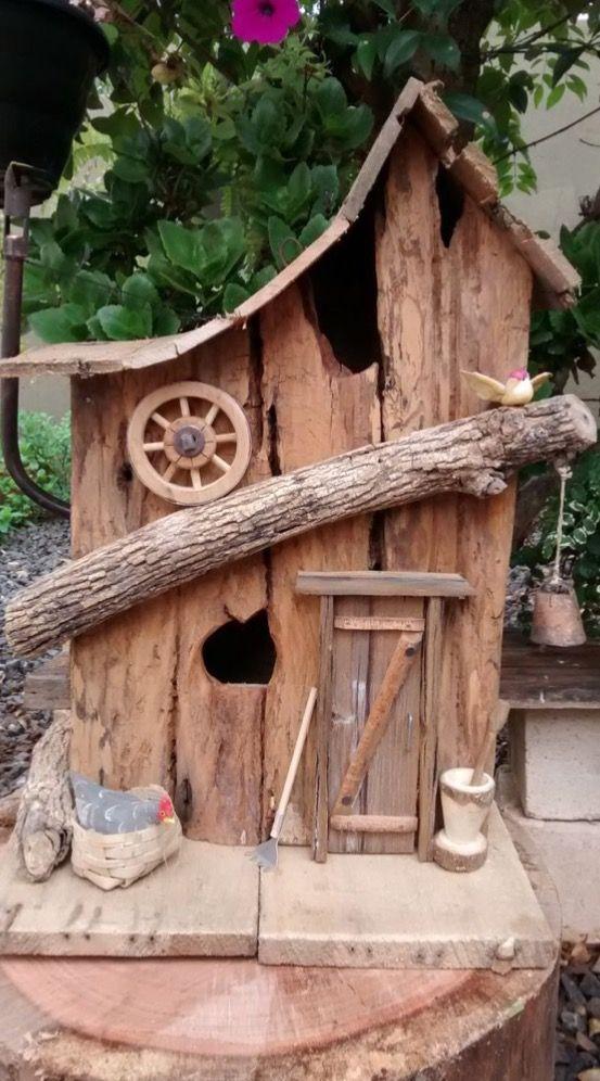 Best 25 Wooden Bird Houses Ideas On Pinterest