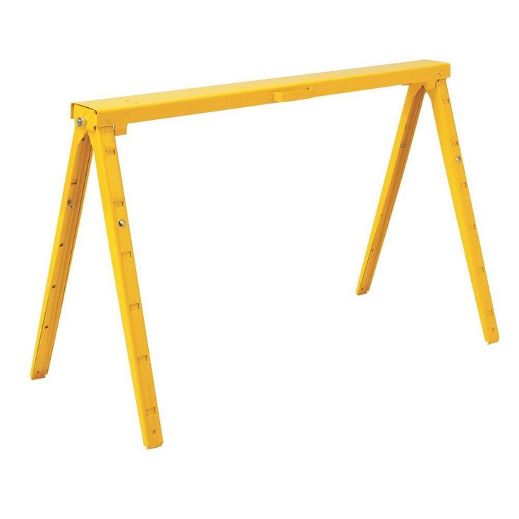 Potential Table Legs   I Actually Have A Table Made W/ One Of These At Home.   Leslie Crawford 38 In. Adjustable Folding Sawhorse SH38A 16 At The U2026