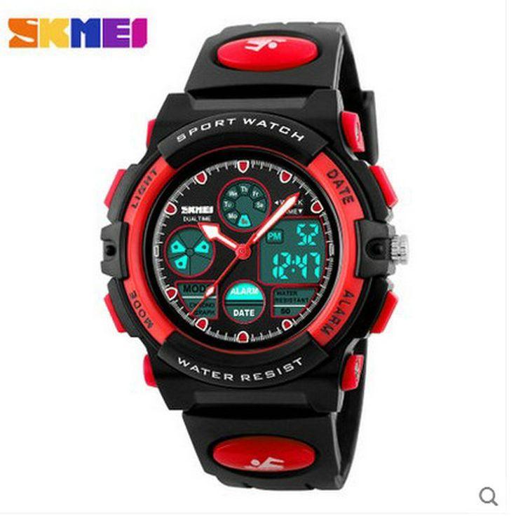 $26.99 (Buy here: https://alitems.com/g/1e8d114494ebda23ff8b16525dc3e8/?i=5&ulp=https%3A%2F%2Fwww.aliexpress.com%2Fitem%2Foriginal-sports-watch-deals-on-wrist-watches-boys-brands-digital-watches%2F32718832962.html ) SKMEI woman student table alarm clock movement multi-function timing run calendar luminous ms waterproof electronic watch for just $26.99
