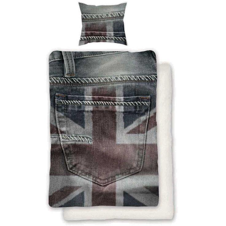Dekbedovertrek Engelse Vlag