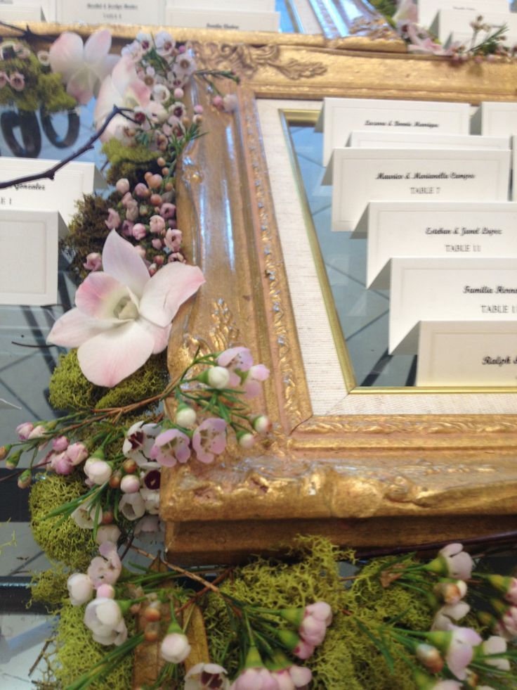 Make it easy for your guests to find their escort cards and remember to locate them no less than 25 feet from the entrance to avoid crowding. Real Wedding: Doral Hotel and Country Club Miami