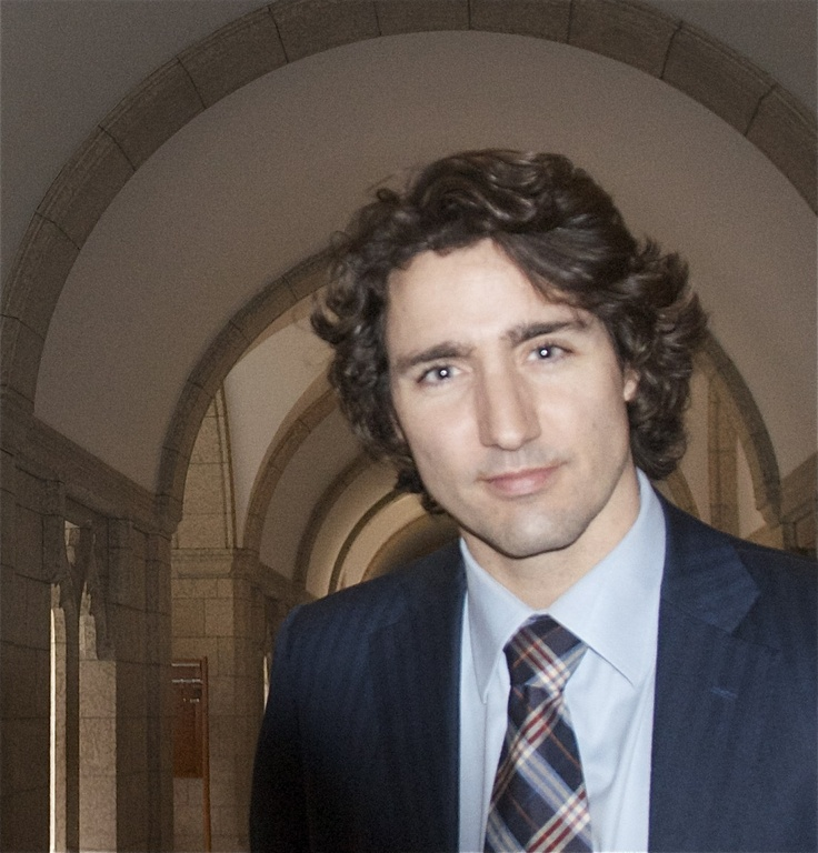 justin trudeau. because he's son of our greatest prime minister, pierre trudeau, and because he is so passionate and so dedicated to his vision of canada. and the hair :*)
