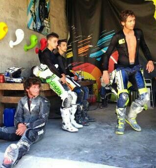 Guy Martin & Valentino Rossi, two legends together!