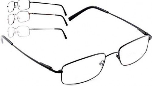 Flexi titanium metal, full #frame front, double bridge with flexi temples and spring hinges